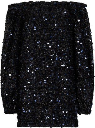 Rotate by Birger Christensen Gloria sequin-embellished mini dress