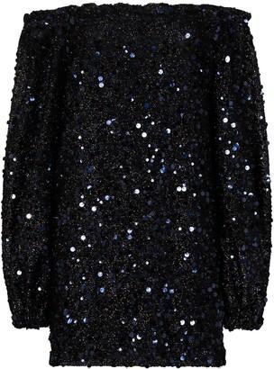 Rotate by Birger Christensen Gloria sequin-embellished mini dress