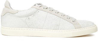 IRO Distressed Suede Sneakers