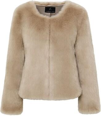 Unreal Fur Lightening Bolt Jacket