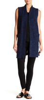 Eileen Fisher Kimono Longline Vest