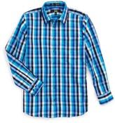Nordstrom Boy's Smartcare(TM) Danube Plaid Dress Shirt