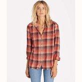 Billabong Women's Wild Adventure Flannel Plaid Shirt