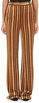 Acne Studios Women's Tessel Striped Wool-Blend Wide-Leg Trousers