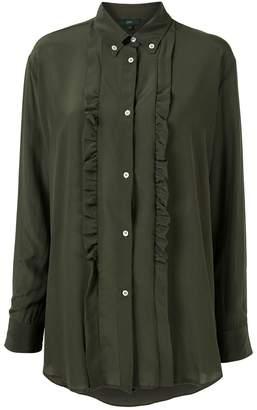 Jejia ruffle long-sleeve shirt