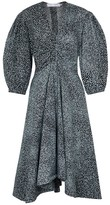 Thumbnail for your product : Proenza Schouler Printed cotton midi dress