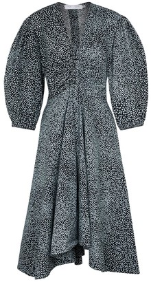 Proenza Schouler Printed cotton midi dress