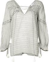 Derek Lam 10 Crosby tassel frill trim blouse