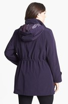 Gallery Anorak with Detachable Hood & Liner (Plus Size)