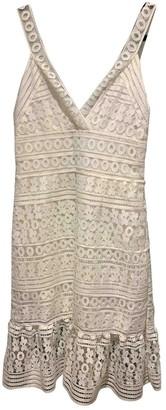 Diane von Furstenberg White Lace Dresses