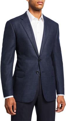 Giorgio Armani Men's Textured Wool Two-Button Jacket