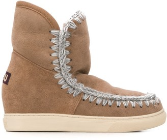 Mou Fly Stitch Boots