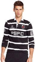 Polo Ralph Lauren Striped Micro-Dot Rugby Shirt