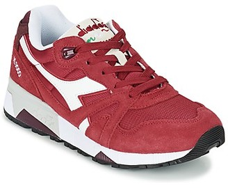 Diadora N9000 III women's Shoes (Trainers) in Red
