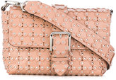 RED Valentino studded shoulder bag - women - Leather - One Size