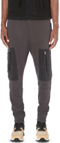 Blood Brother Loom cotton-jersey jogging bottoms