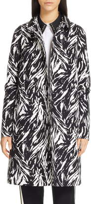 N°21 N21 Zebra Print Cotton Coat