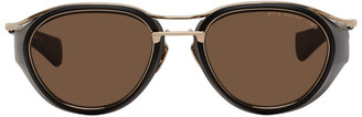 Dita Gold and Black Nacht-Two Sunglasses