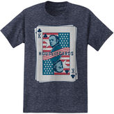 Novelty T-Shirts House of Cards Short-Sleeve Cotton Tee