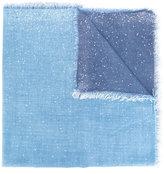Faliero Sarti embellished fringed scarf - unisex - Virgin Wool/Silk/Cashmere/Polyester - One Size