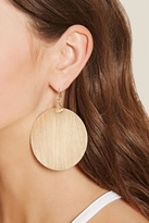 Forever 21 Disc Drop Earrings