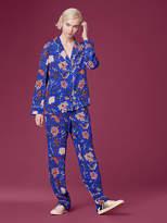 Diane von Furstenberg Wide Leg Pajama Pant