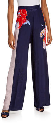 Etro Lily Jacquard Pants