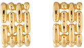 Givenchy Basketweave Clip-On Earrings