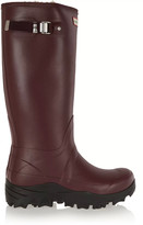 Hunter Tall Snow Wellington shearling-lined rubber boots