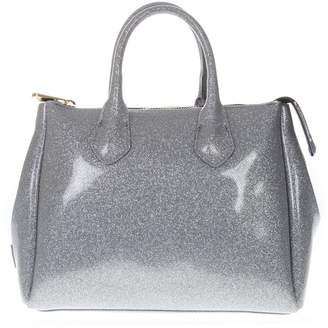 Gianni Chiarini Glossy Silver Gum Bag
