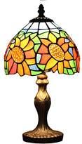 Loxton Lighting 20cm Sunflower Design Table Lamp, Yellow/Orange