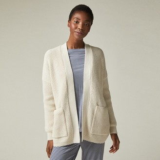 Love & Lore Waffle Knit Cardigan Cream Medium-Large