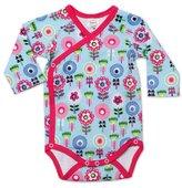 Zutano Baby-Girls Newborn Dizzy Daisy Long Sleeve Body Wrap