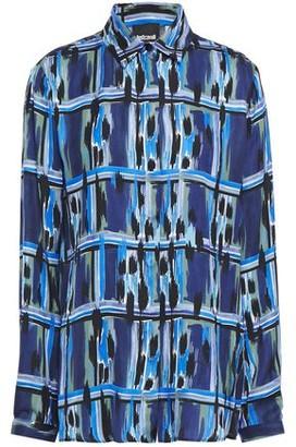 Just Cavalli Printed Satin Shirt