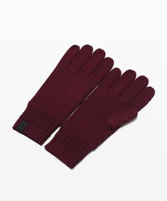 Lululemon Tech and Toasty Knit Gloves
