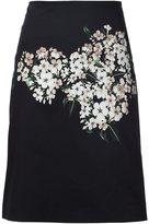 Carolina Herrera 'Jasmine 'a-line skirt