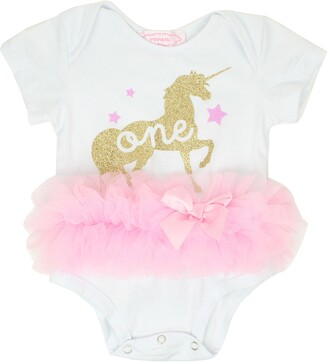 Popatu One Unicorn Tutu Bodysuit