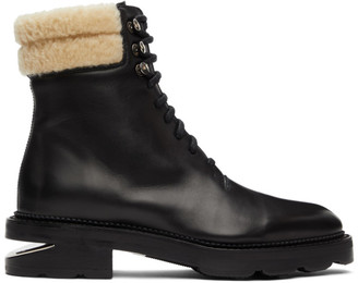 Alexander Wang Black Shearling Andy Boots
