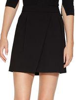Halston Heritage Overlay Mini Skirt