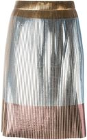Golden Goose Deluxe Brand metallic accent skirt