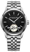 Raymond Weil Freelancer Open Balance Wheel Stick Stainless Steel Automatic Watch
