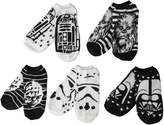 Star Wars Disney Big Girls' 5 Pack No Show Socks 1