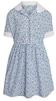 Cambridge Silversmiths Unbranded St Mary's School, Girls' Summer Dress, Blue/White