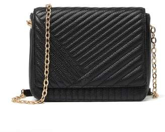 14th & Union Muse Leather Quilted Crossbody Bag