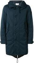 Peuterey hooded down midi coat