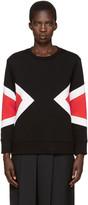 Neil Barrett Black Modernist Pullover