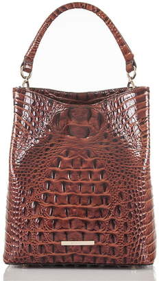 Brahmin Amelia Croc Embossed Leather Tote