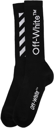 Off-White Logo Diagonal Socks