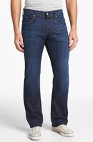 7 For All Mankind 'Austyn' Relaxed Straight Leg Jeans (Los Angeles Dark)