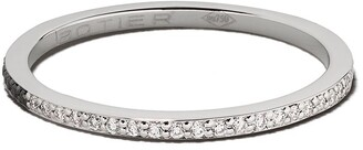 Botier 18kt white gold Day And Night diamond eternity ring